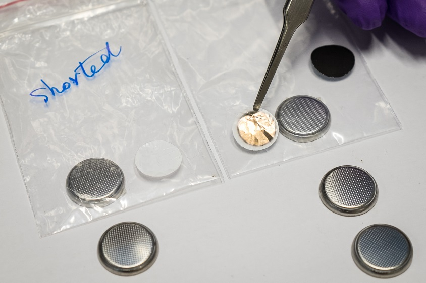 New tech to prevent Li-ion battery fires