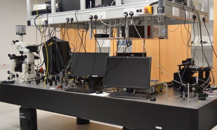 Superresolution Microscopy Room